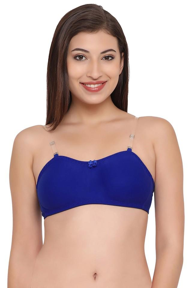 Womens Solid Non Wired Non Padded T-Shirt Bra