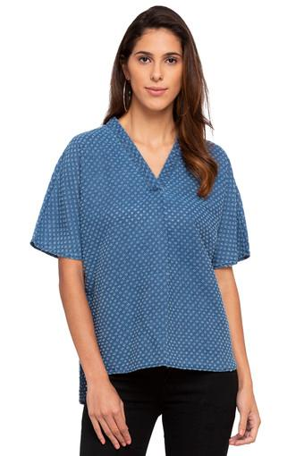 VERO MODA -  Blue Mix Light T-Shirts - Main