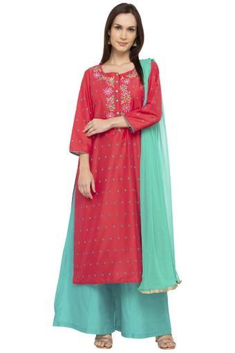 KASHISH -  TealSalwar & Churidar Suits - Main