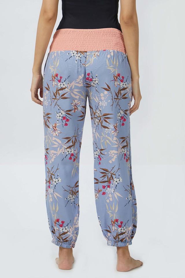 Womens Floral Print Pyjamas