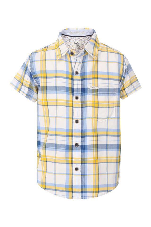 Boys Checks Casual Shirt