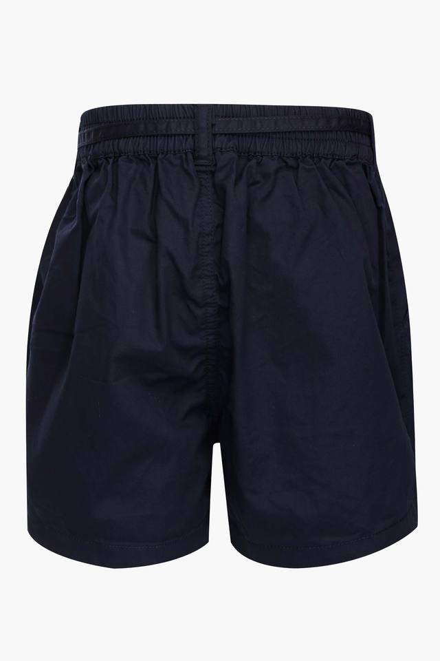 Girls 2 Pocket Solid Shorts