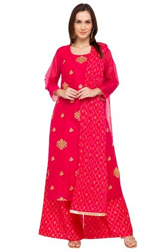 KASHISH -  Fuchsia Salwar & Churidar Suits - Main
