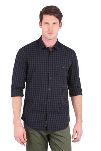 LOUIS PHILIPPE JEANS -  55-dark GreyCasual Shirts - Main