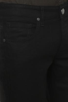LOUIS PHILIPPE JEANS - Black Jeans - 4