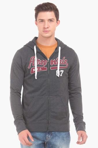 Mens Full Sleeves Printed Hoodie