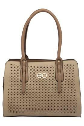 E2O Womens Zipper Closure Satchel Handbag - 203461139_9463