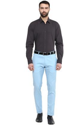 Mens 4 Pocket Stripes Formal Trousers