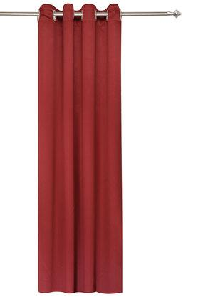Polyester Solid Door Curtain