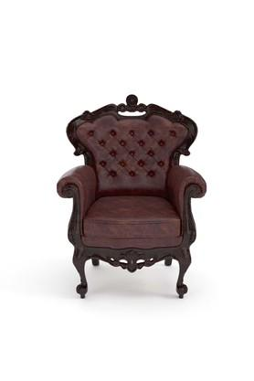 Red Arm chair classic
