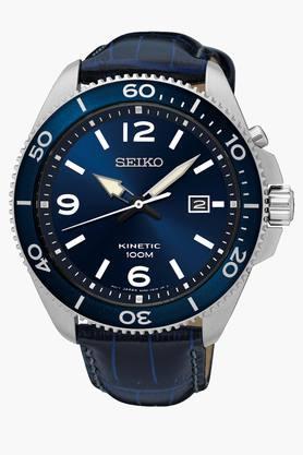 SEIKOMens Dress Analog Blue Dial Watch - SKA745P2