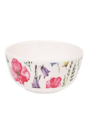 Round Printed Vegetable Bowl