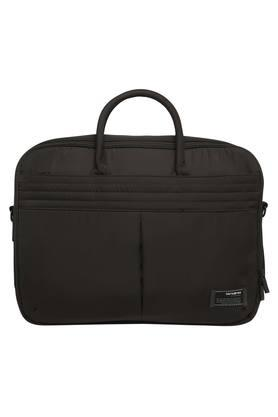 Mens Zip Closure Laptop Briefcase