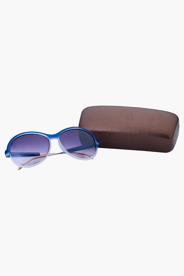 Womens Oversized UV Protected Lens Sunglasses - 1801BLUE