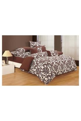 SWAYAM Floral Printed Single Bed Quilt
