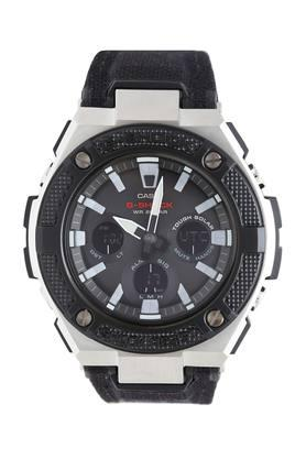 Mens Leather Chronograph Watch - G886
