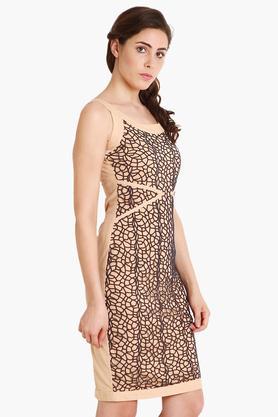 Womens Printed Short Dress