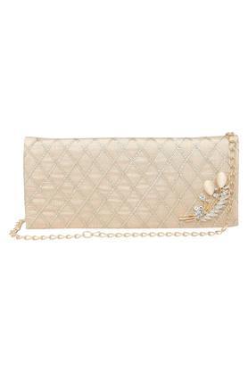 Womens Snap Closure Sling Wallet
