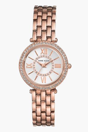 Womens Analogue Stainless Steel Watch - AK2966SVRG