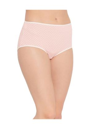 Womens High Waist Polka dots Hipster Briefs