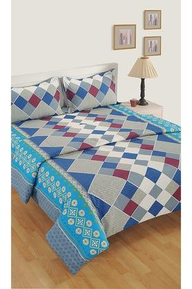 Cotton Geometric Printed Single AC Comforter