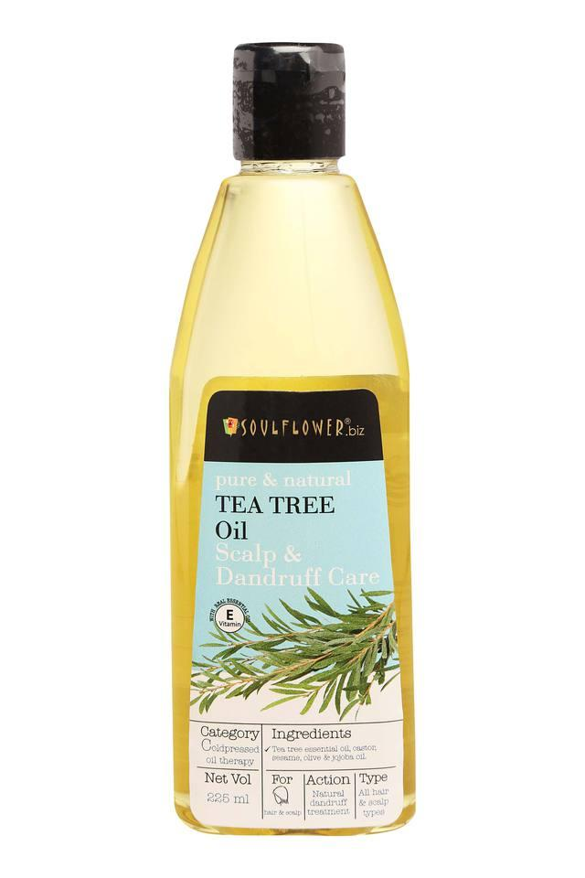 Tea Tree Hair Oil for Scalp and Dandruff Care - 225 ml