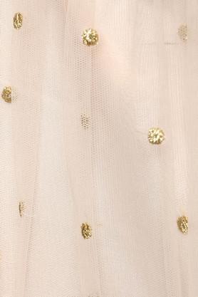 Womens Round Neck Embroidered Lehenga Choli Set