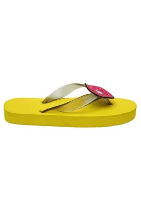 Girls Casual Wear Slipon Flip Flops