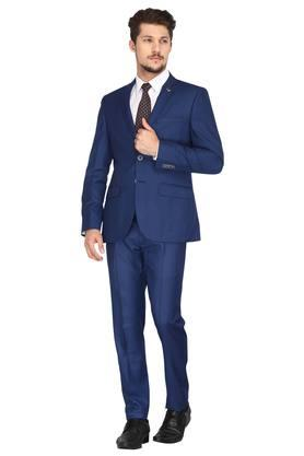 2986a275134 X RAYMOND Mens ... New Design Morning Style Navy Blue Groom Tuxedos  Groomsmen Men S Wedding Suits Best ...