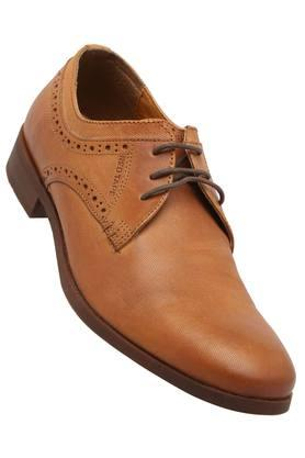 RED TAPE Mens Leather Lace Up Derbys - 203095221