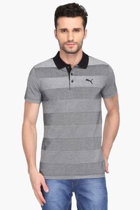 PUMAMens Stripe Polo T-Shirt - 203162255