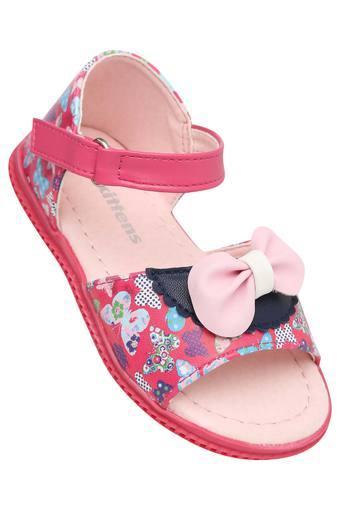 Girls Casual Wear Velcro Closure Sandals