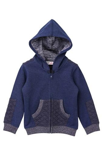 Boys Hooded Slub Jacket