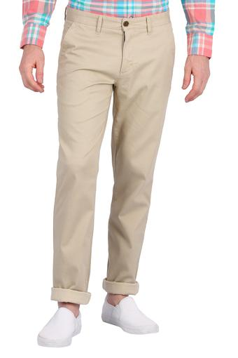 LOUIS PHILIPPE -  BeigeFormal Trousers - Main