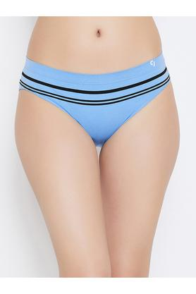 Womens Striped Hipster Briefs - Pack of 3