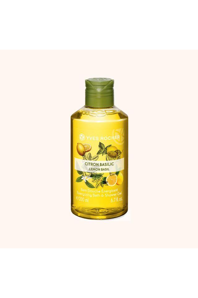 Energizing Bath and Shower Gel - Lemon Basil - 200 ML