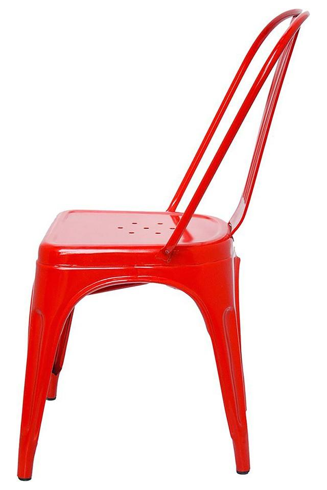 Red Stylo Chairs Set of 4