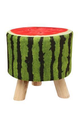 Round Printed Watermelon Stool