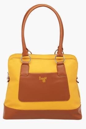 BAGGITWomens Casual Wear Zipper Closure Tote Handbag - 203013035