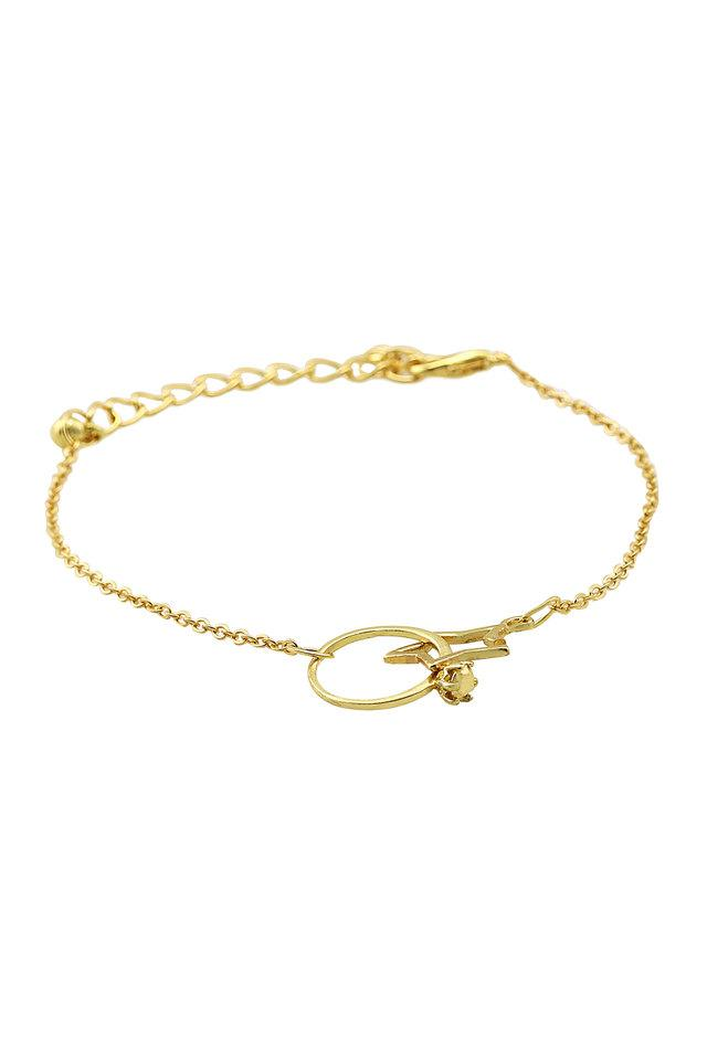 Womens Gold Plated Bracelet
