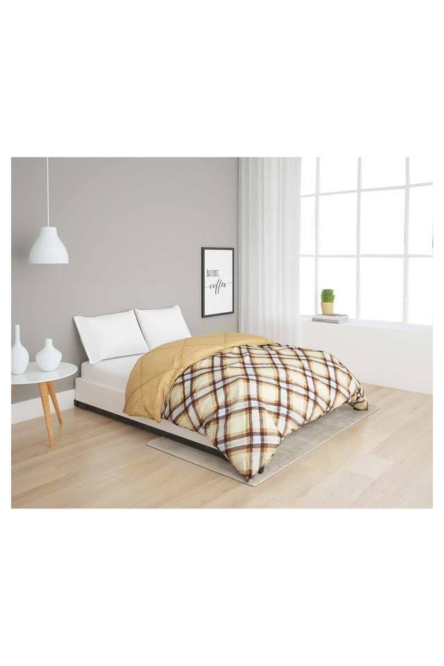 Checked Single Bed Quilt