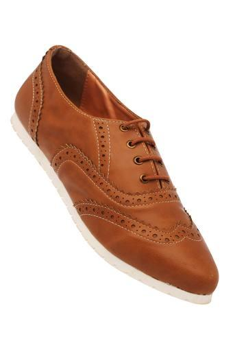 Womens Casual Wear Lace Up Brogues