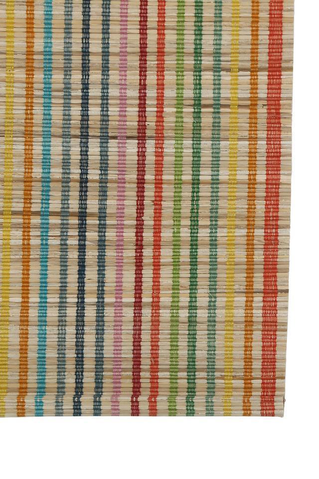 Stripe Banana Fibre Table Mat Set of 2