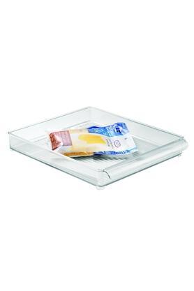 INTERDESIGNSquare Transparent Storage Tray With Handle - 201101473_9999