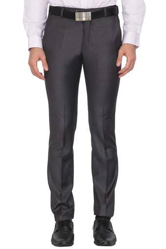 PARK AVENUE -  Dark GreyFormal Trousers - Main