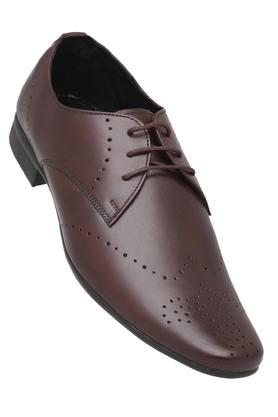 FRANCO LEONE Mens Leather Lace Up Derbys - 203592065_8927