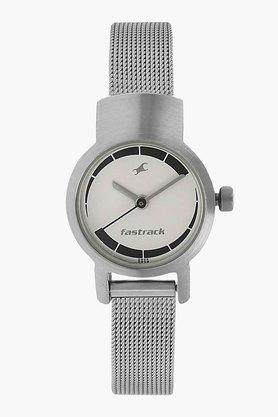 Fastrack Womens Analogue Stainless Steel Watch - NJ2298SM01C image
