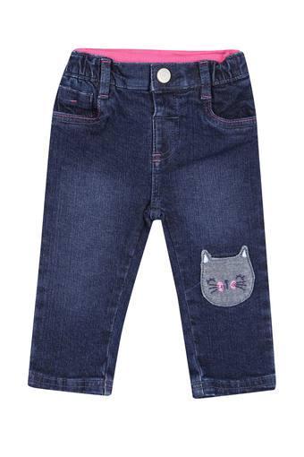 Girls 5 Pocket Mild Wash Jeans