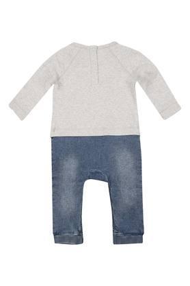Kids Round Neck Graphic Babysuit