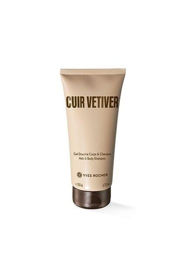 Cuir Vetiver Hair and Body Shampoo - 200 ML